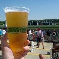 Photo taken at Arlington International Racecourse by Jeff on 6/9/2012