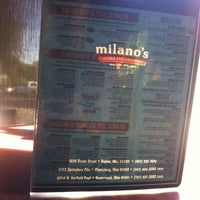 Photo taken at Milano's Pizza, Subs & Taps by Ty K. on 9/15/2011