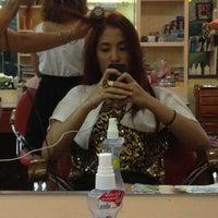 Photo taken at ใจ hair being(พัทยากลาง) by Helen O. on 3/19/2012