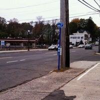 Photo taken at 60 Bus Stop by Thomas Z. on 11/4/2011