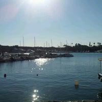 Photo taken at Kos Harbour by Bart M. on 8/20/2012