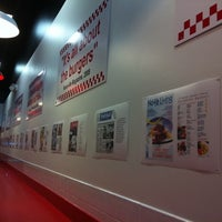 Photo taken at Five Guys by Sergey B. on 8/7/2011