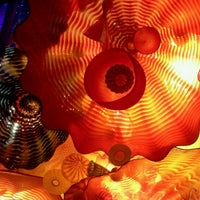 Photo taken at Chihuly Exhibit @ The MFA by Alex S. on 6/10/2011