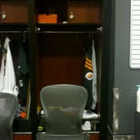 Photo taken at Phoenix Suns Locker Room by Michael P. on 12/20/2011