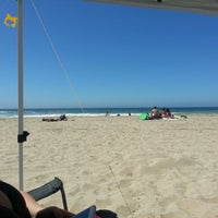Photo taken at Huntington State Beach by Rudy M. on 9/1/2012