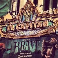 Photo taken at El Capitan Theatre by Cristina P. on 6/23/2012