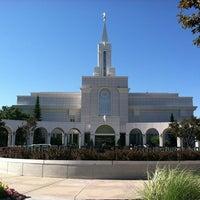 Photo taken at Bountiful Utah Temple by Hunter D. on 8/6/2011