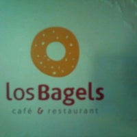 Photo taken at Los Bagels by DIEGO S. on 8/26/2011