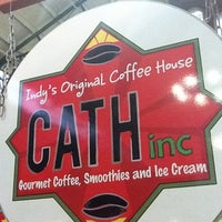 Photo taken at CATH COFFEE & Tea House by Maher Mike B. on 11/24/2011