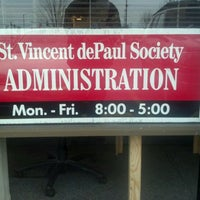 Photo taken at St Vincent de Paul by Thomas P. on 1/3/2012