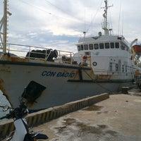 Photo taken at Cảng Bến Đầm by Nhan N. on 5/27/2012