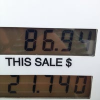 Photo taken at BP by Edynor V. on 2/26/2012