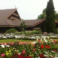 Photo taken at Doi Tung Royal Villa by Ranya K. on 3/23/2012