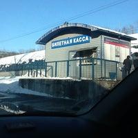 Снимок сделан в Платформа Маленковская пользователем Алеша К. 3/26/2012