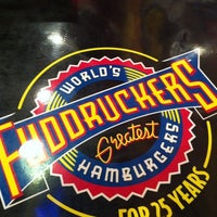 Photo taken at Fuddruckers by Eda T. on 9/1/2012
