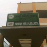 Photo taken at SMP/SMA K Tunas Bangsa sunter by Ria E. on 5/13/2012