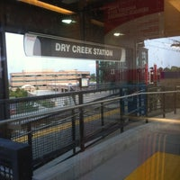 Photo taken at RTD - Dry Creek Light Rail Station by Andree S. on 8/22/2012