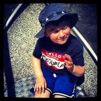 Photo taken at Vanderbilt Playground by Evan R. on 5/20/2012