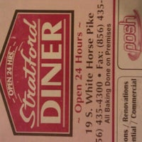 Photo taken at Stratford Diner by Red S. on 4/21/2012