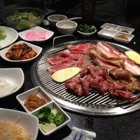 Photo taken at Manna Korean BBQ by Matt K. on 2/26/2012