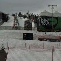 Photo taken at Winter Dew Tour by Bryan B. on 2/11/2012