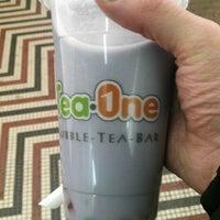 Photo taken at Tea One - Bubble Tea by Stefan S. on 2/9/2012