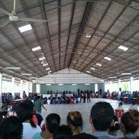 Photo taken at ที่ว่าการอำเภอหลังสวน จ.ชุมพร by Kong M. on 4/10/2012