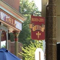 Photo taken at Blues City Deli by Max on 8/6/2012
