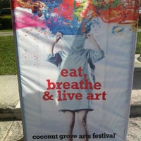 Photo taken at Coconut Grove Arts Festival by JeanMarc D. on 2/20/2012