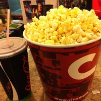 Photo taken at Cinemark by Cintia C. on 5/10/2012