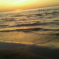 Photo taken at Majori Beach by Karīna P. on 7/24/2012