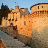Photo taken at Castello di Brescia by Eliana on 3/14/2012