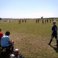 Photo taken at Tempo Soccer Club Fields by Corey G. on 5/12/2012