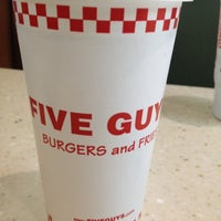 Photo taken at Five Guys by Jbad . on 3/2/2012