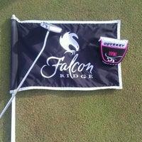 Photo taken at Falcon Ridge Golf Course by Karen B. on 4/8/2012