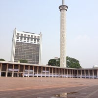 Photo taken at Masjid Istiqlal by Ridho S. on 8/12/2012