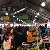Photo taken at Queen Victoria Market by Peter C. on 7/20/2012