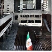 Photo taken at Tribunal Superior de Justicia de la Ciudad de México - Juzgados de lo Familiar by Mike H. on 3/17/2012