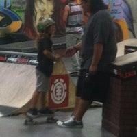 Photo taken at Epic Indoor Skate Park by Jenna J. on 8/11/2012