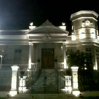 Photo taken at Paseo de Montejo by Rodrigo on 8/26/2012