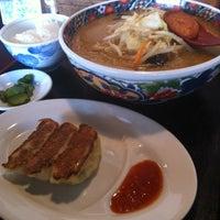8/30/2012 tarihinde Satoshi N.ziyaretçi tarafından ラーメン天狗山 名取店'de çekilen fotoğraf