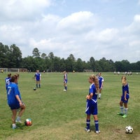 Photo taken at WRAL Soccer Center by Michael H. on 6/23/2012
