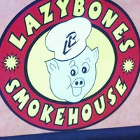 Photo taken at Lazybones Smokehouse by Bill P. on 3/21/2012
