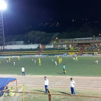 Photo taken at Estadio Alfonso López by Guille O. on 6/21/2012