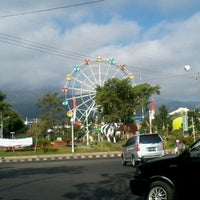 Photo taken at Alun-Alun Kota Wisata Batu by vani c. on 8/20/2012