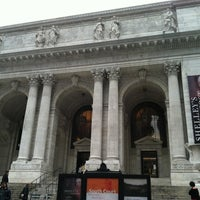 Photo taken at New York Public Library - Stephen A. Schwarzman Building Celeste Bartos Forum by Carrie F. on 3/25/2012