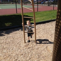 Photo taken at Cannon Beach Playground by Tj W. on 5/13/2012