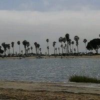 Photo taken at Fiesta Island by Beatriz on 8/5/2012