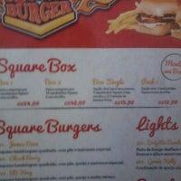 Photo taken at Square Burger by Mel on 6/3/2012