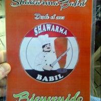 Photo taken at Shawarma Babil by Erick L. on 6/16/2012